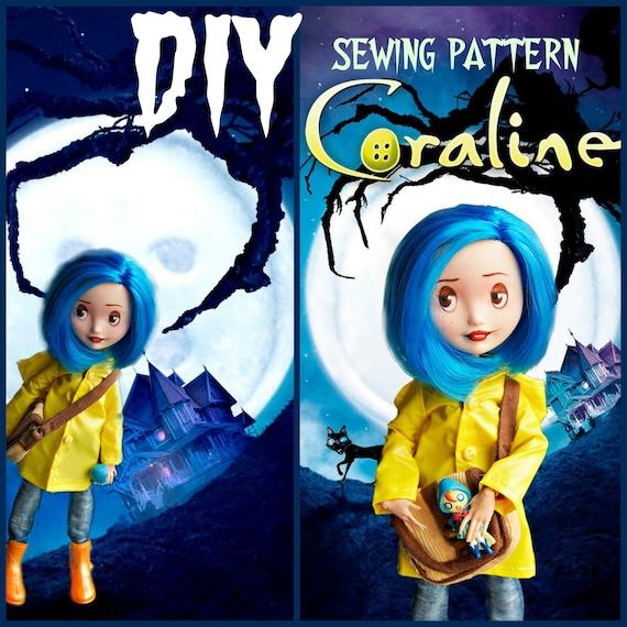 Ooak Monster High Coraline Easy Sew Pattern Coraline Doll Etsy