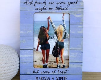 Long Distance Friendship Frame Etsy