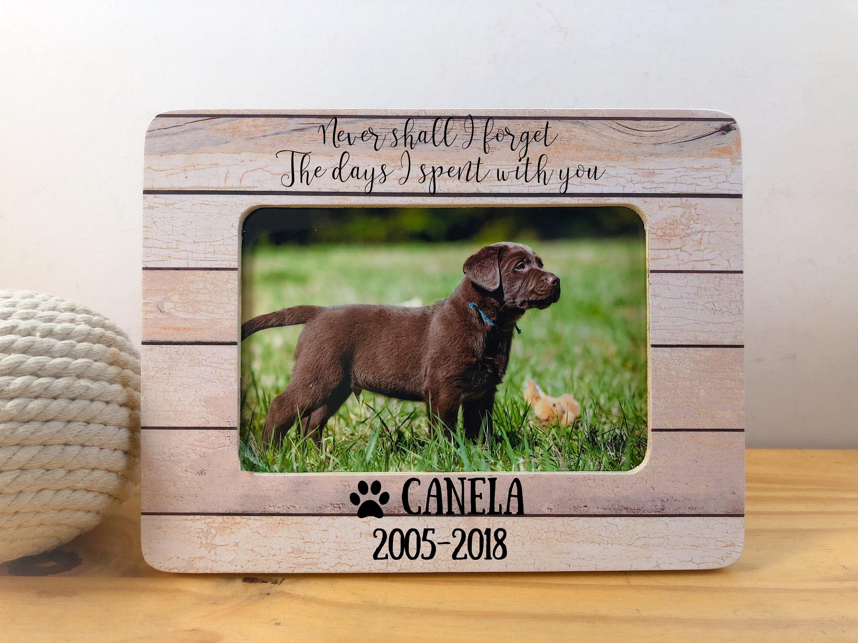 Haustier Erinnerung Rahmen Hund Katze Memorial Frame Hund | Etsy