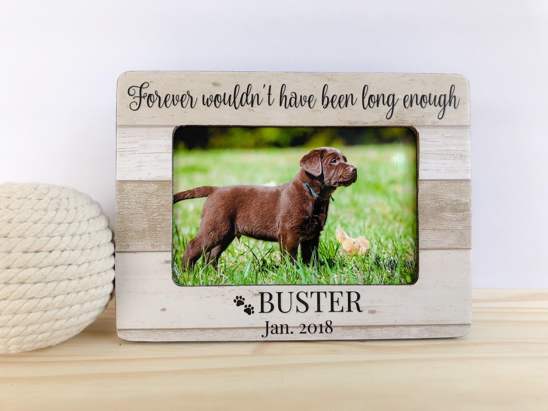 Personalisierte Hund Katze Rahmen Hund Memorial Frame Pet | Etsy