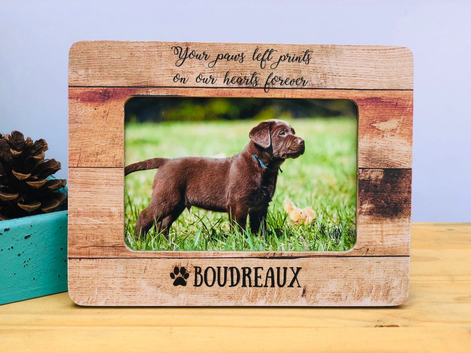 Otter Design Photo Frame 6x4 Landscape or Portrait Free Standing Gift