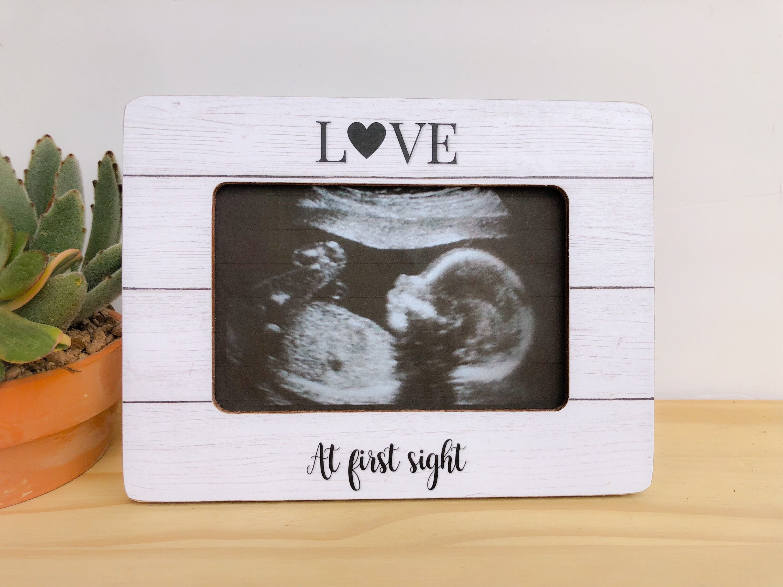 Personalisierte Ultraschall Rahmen Sonogramm Rahmen Baby | Etsy