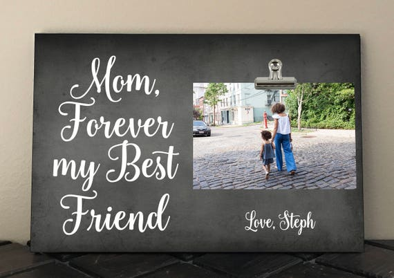 Adoptive Mother Personalized Free Gift for MOM Stepmom Photo Clip Frame 8 x 12  wl03 We/'ll LOVE you forever we/'ll like you ALWAYS