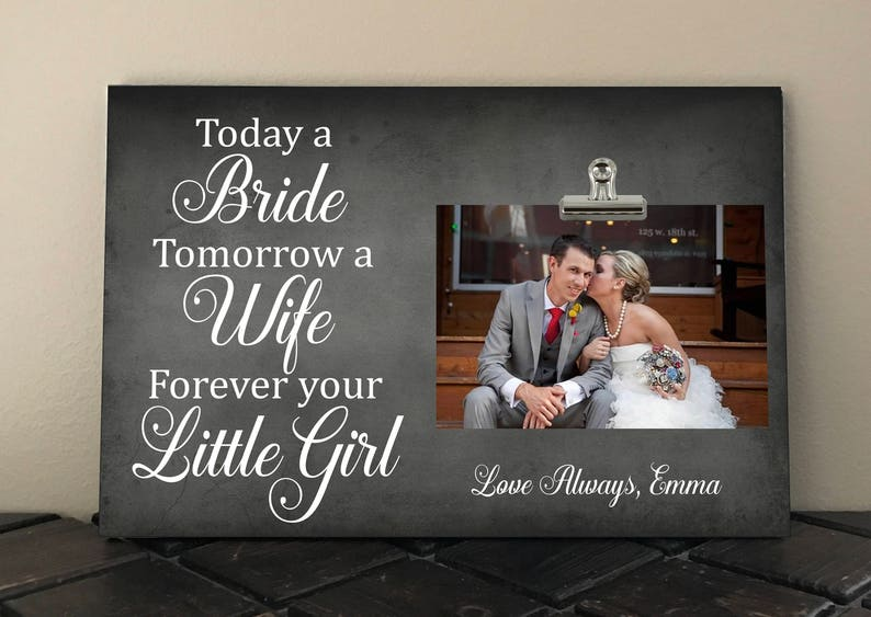 Parents of the Bride gift  Personalized Free Today a bride image 0