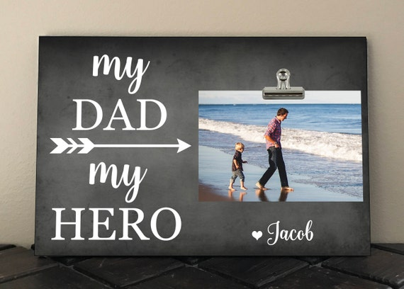 My Dad My Hero Personalized Free Perfect For Christmas Etsy