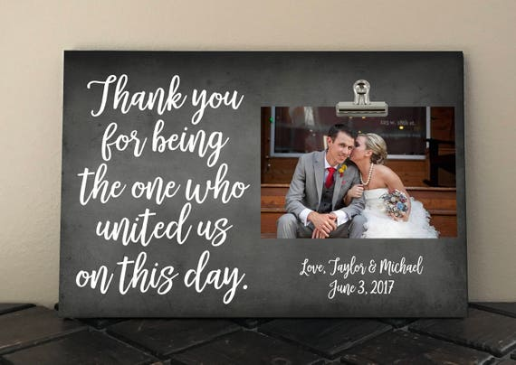 Wedding Officiant Gift Ideas: THANK YOU Gift For Wedding OFFICIANT Free Proof