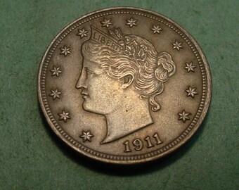 1911 nickel | Etsy