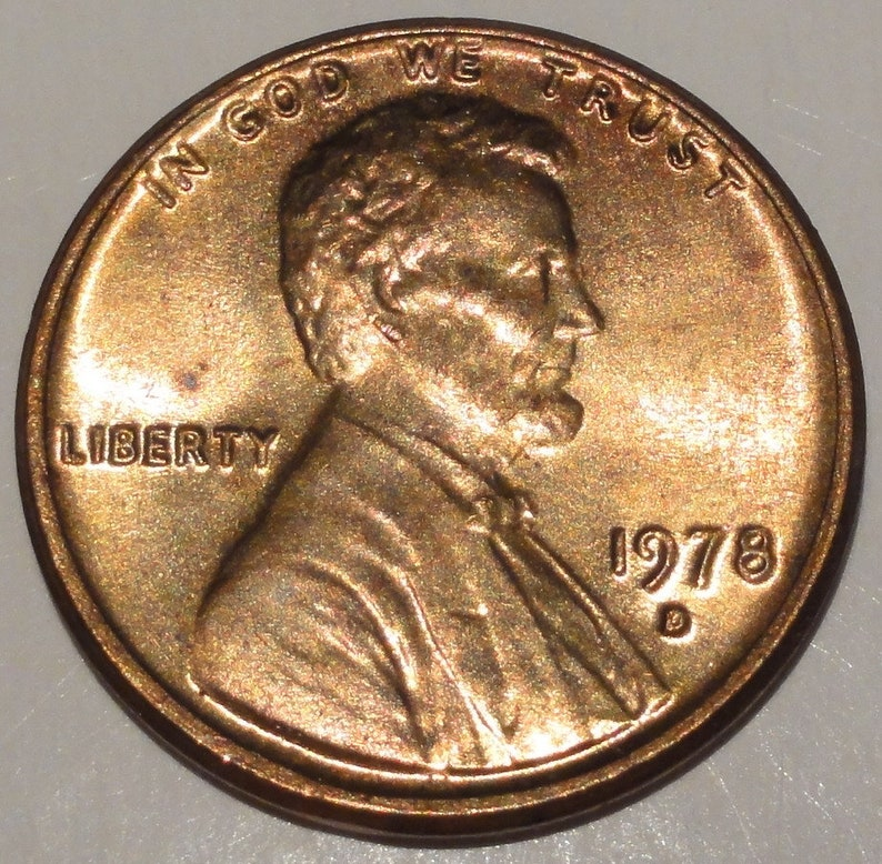 1978 LINCOLN CENT choice to GEM BU