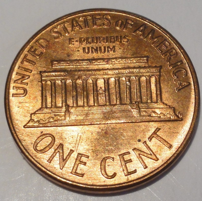 1963-P  Lincoln Memorial Cent Gem Brilliant Uncirculated Red The Coin You See is the Coin You Get  #MET0224