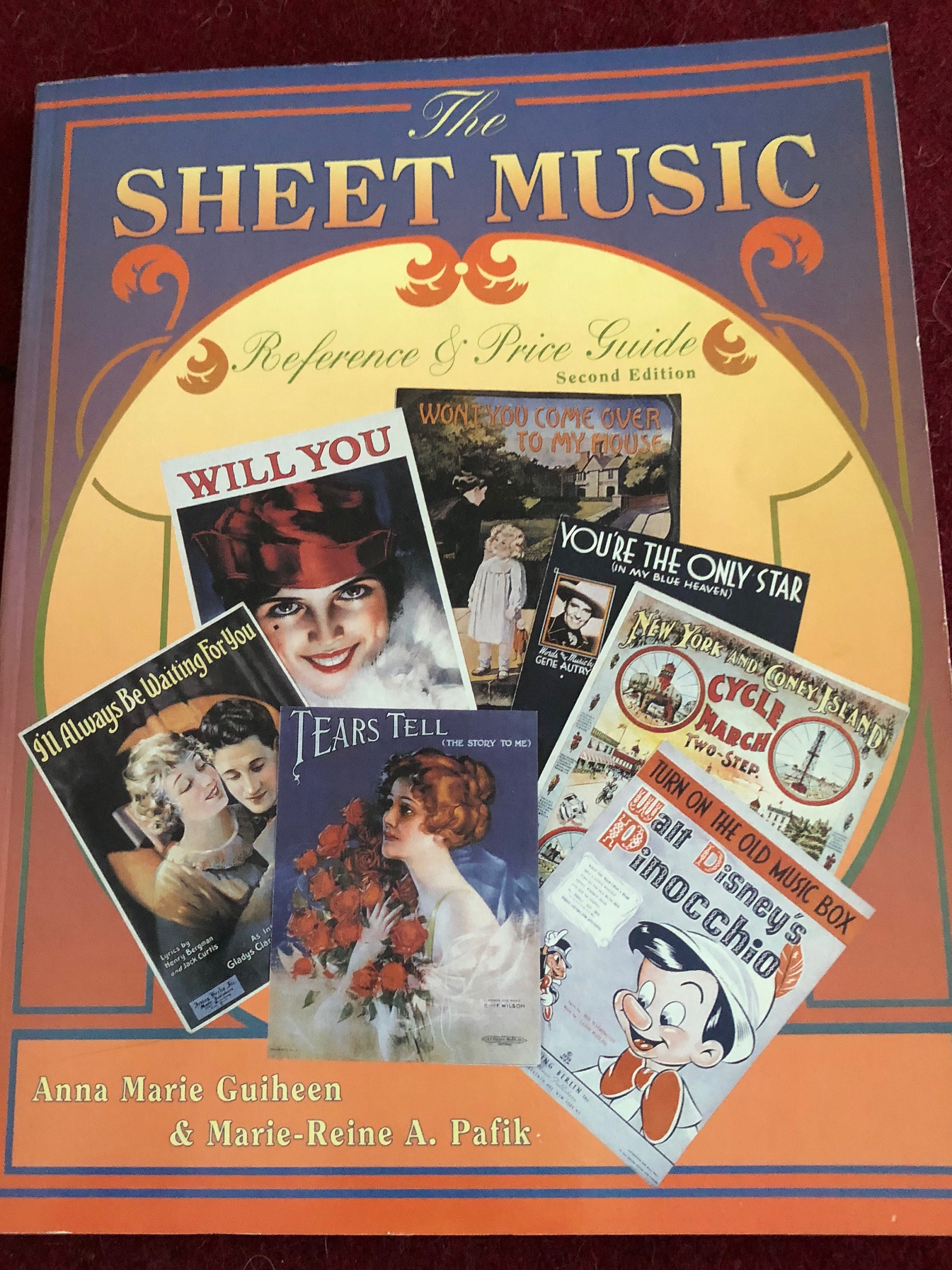 Reference Book The Sheet Music Reference and Price Guide by Pafik and  Guiheen/2nd Ed /1995/Softcover/Free S&H to US/Great Condition<>#301