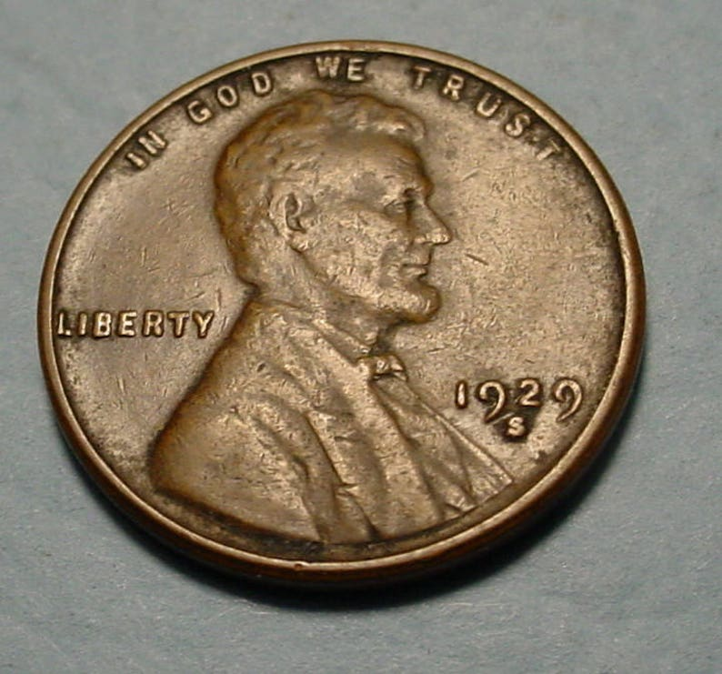 1929-S  Lincoln Wheat Cent in XF