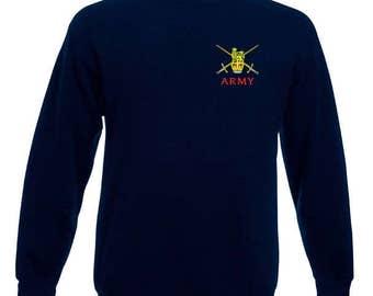 Army crossed swords sweatshirts