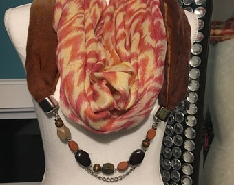 Scarf Necklace - Harvest Dream