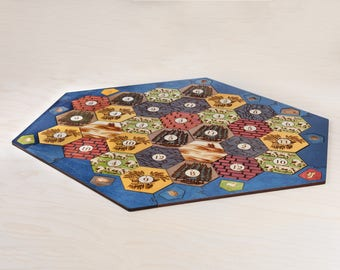 Wood Game Board | Classic | 5-6 Player Extension (Add-on), Laser Cut, Personalized