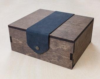 Box for Wood Game Board | Vintage, Custom, Laser Cut