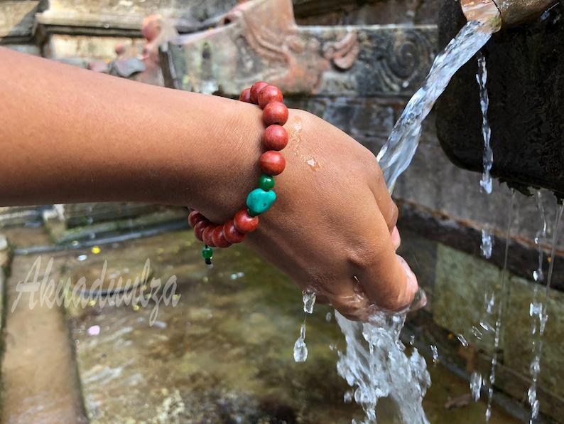 Tibetan Brown bracelet with turquoise  Healing Bracelet  Boho Hippie  Tibetan Bracelet  Tribal