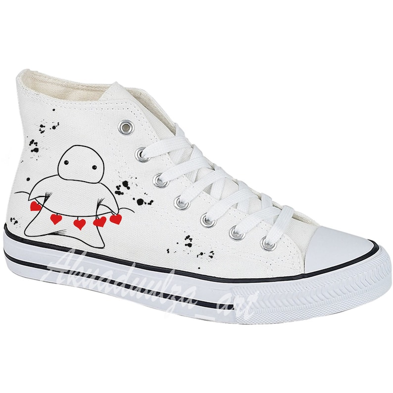96b0bea0c461d Love message Customised Unisex Shoes / Wedding shoes / Bridal Shoes / Gift  Shoes