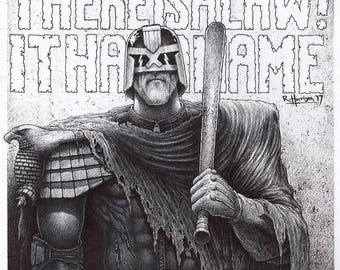 Dredd - There Is A Law [ Print ]