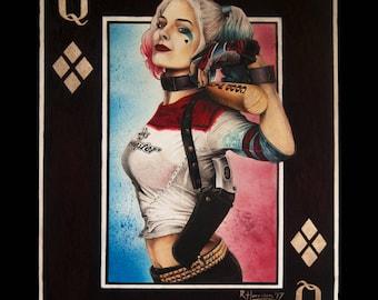 Harley Card [ Print ]