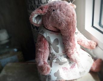 Teddy Elephant, handmade stuffed animal