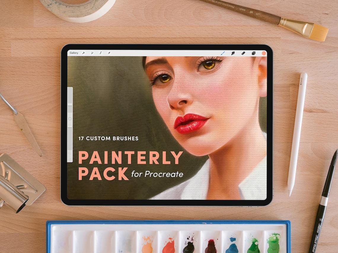 Painterly Pack  Procreate Brushes image 0