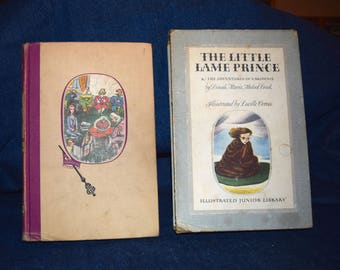 The Little Lame Prince & The Adventures of a Brownie, Vintage, Classic Book