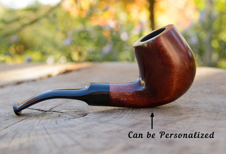 Sale Classic Wooden Smoking Pipe Kaf229 Sherlock Holmes Style Hand Carved Pear Wood Tobacco Bowl Filter 9 Mm Gift For Dad Personalized