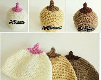 Boobie beanie crochet 9035384ff5ae