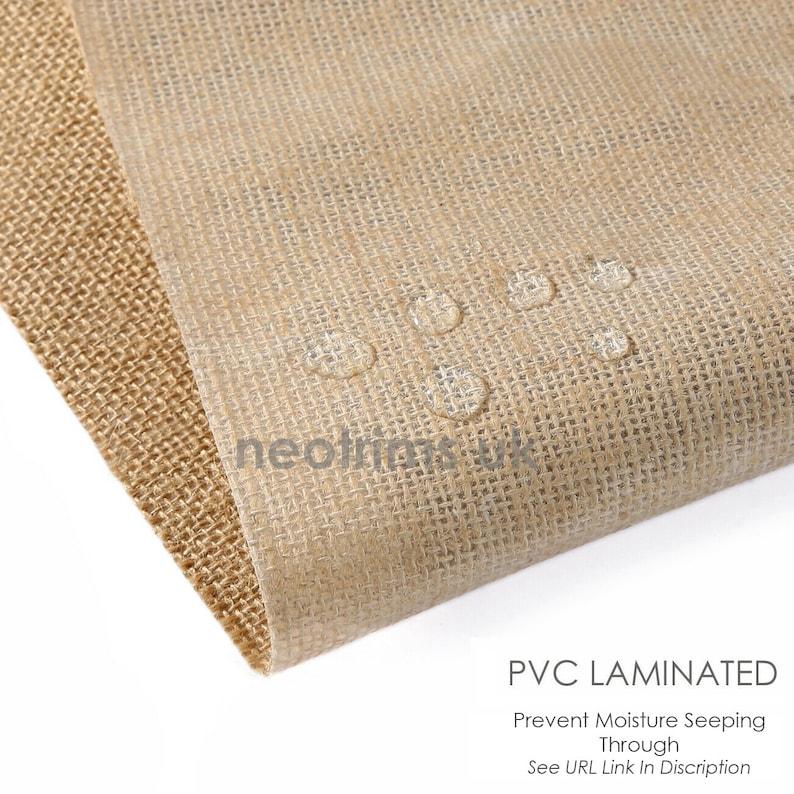 Hessian Fabric Upholstery Material Natural Jute Burlap Garden Sack Cloth,162cms,60 Widest Width on market.10 Oz,290GSM,Neotrims UK.