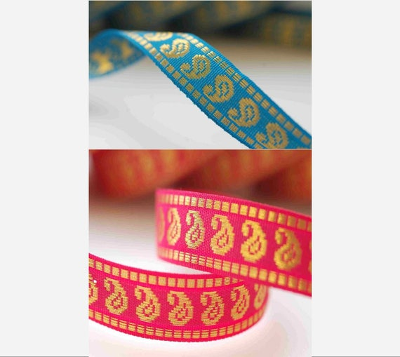 Indian Ribbon,6 meters Crafts Ribbons by the meter