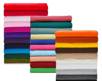 1 Metre Polar Fleece Fabric, Anti Pill Finish, Medium 320 Grams Weight, Quality Fabric & Material, Sewing and Crafts, Neotrims Textiles