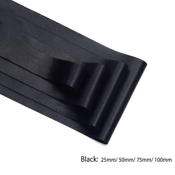 Herringbone Crochet Neotrims 30mm Faux Leather PU Ribbon Strap Tape Trimming