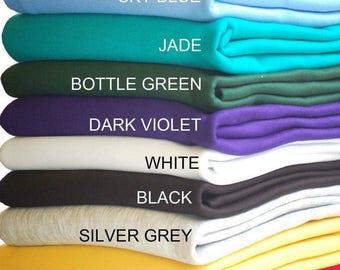 Sweatshirt Fleece, gebürstetem Stoff, Hoodies, Jersey, Schule, Mode Großhandel, Neotrims Textil, Handwerk & Nähen, Stoff und Material