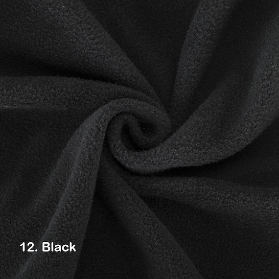 NAVY BLUE Polar FLEECE soft fabric material antipill 150cm TOP QUALITY