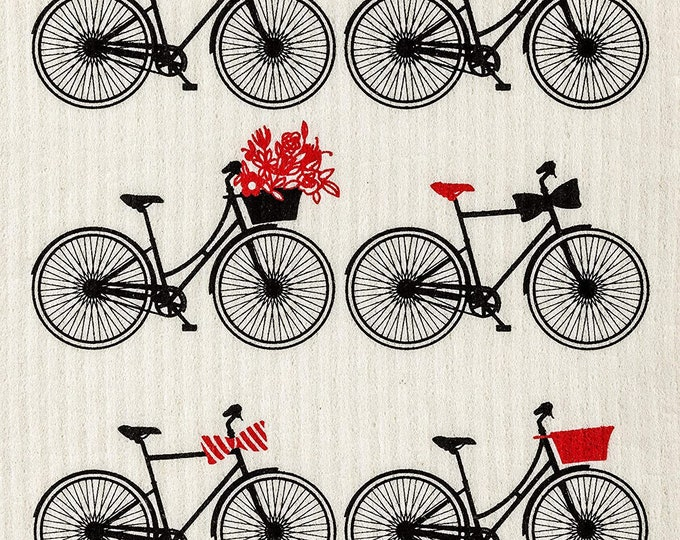 Bicycles Swedish Cloth
