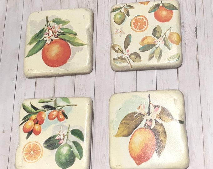 Citrus Coaster Set