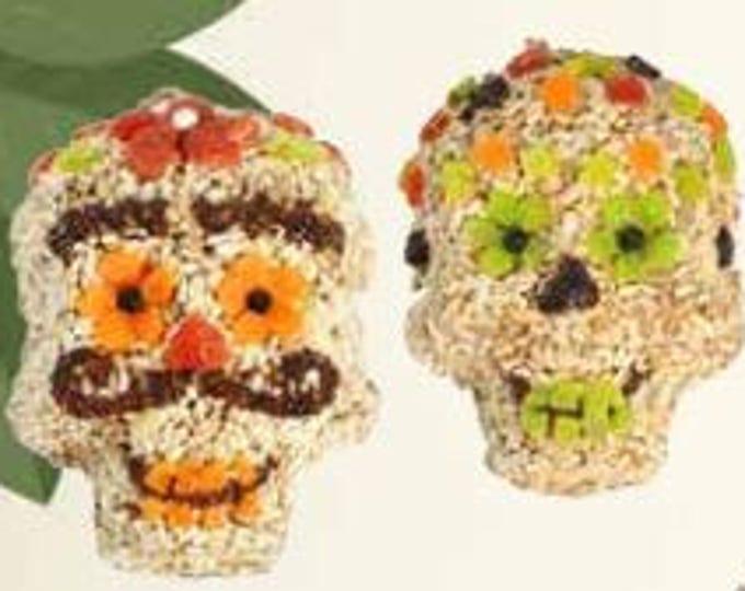 Mr. Bird Seed Skulls