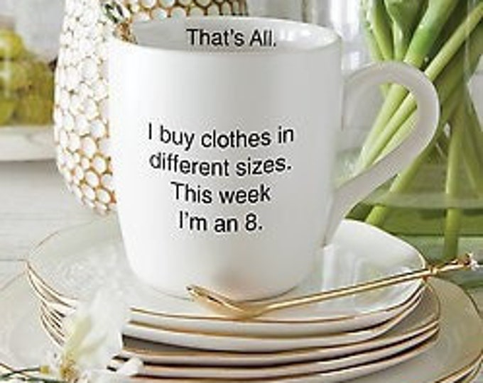 I buy Clothes MUG by That's All