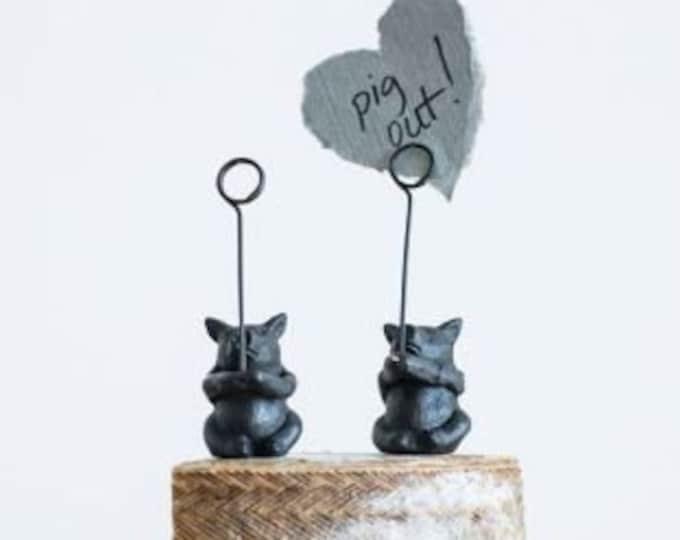 Pig Card Holder