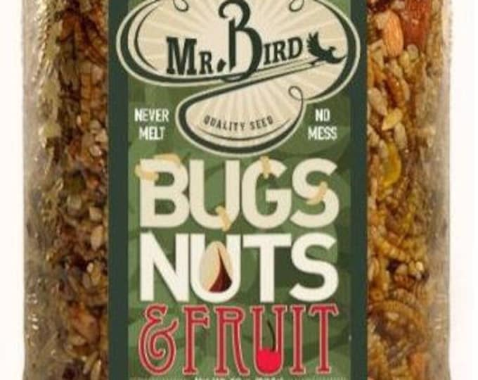 Mr. Bird Bugs Nuts & Fruit