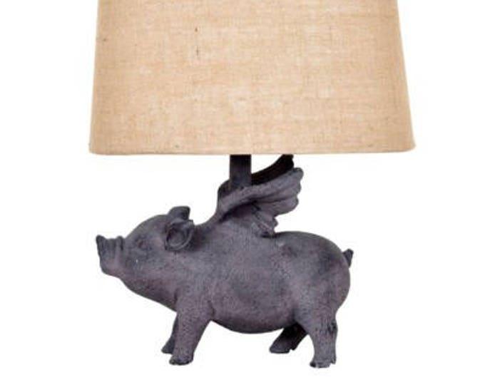 Flying Pig Lamp