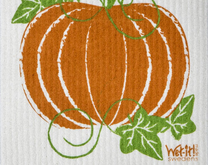Pumpkin Patch Swedish Cloth