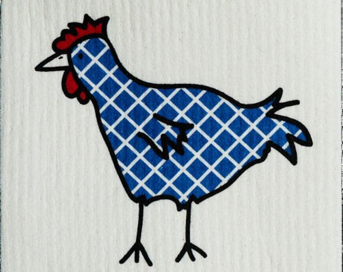 Plaid Navy Chicken