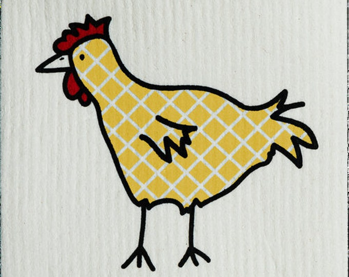Plaid Yellow Chicken