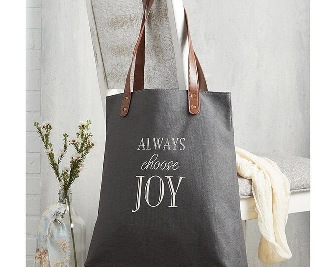 Always choose joy- jute bag
