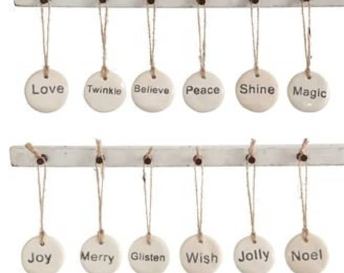 Holiday Tag Ornament