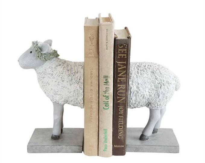 Sheep Bookends