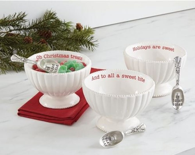 Candy Dish & Scoop Set