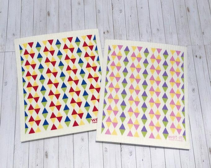 Triangles Swedish Cloth