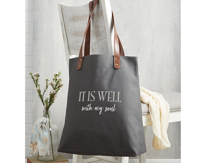 It is well with my soul-tote